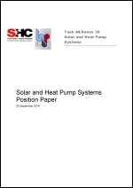 Position Paper: Solar and Heat Pump Systems